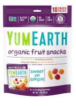 YumEarth Organic Fruit Snacks, 10 Snack Pouches Per Pack, 7 Ounce (Pack of 12)