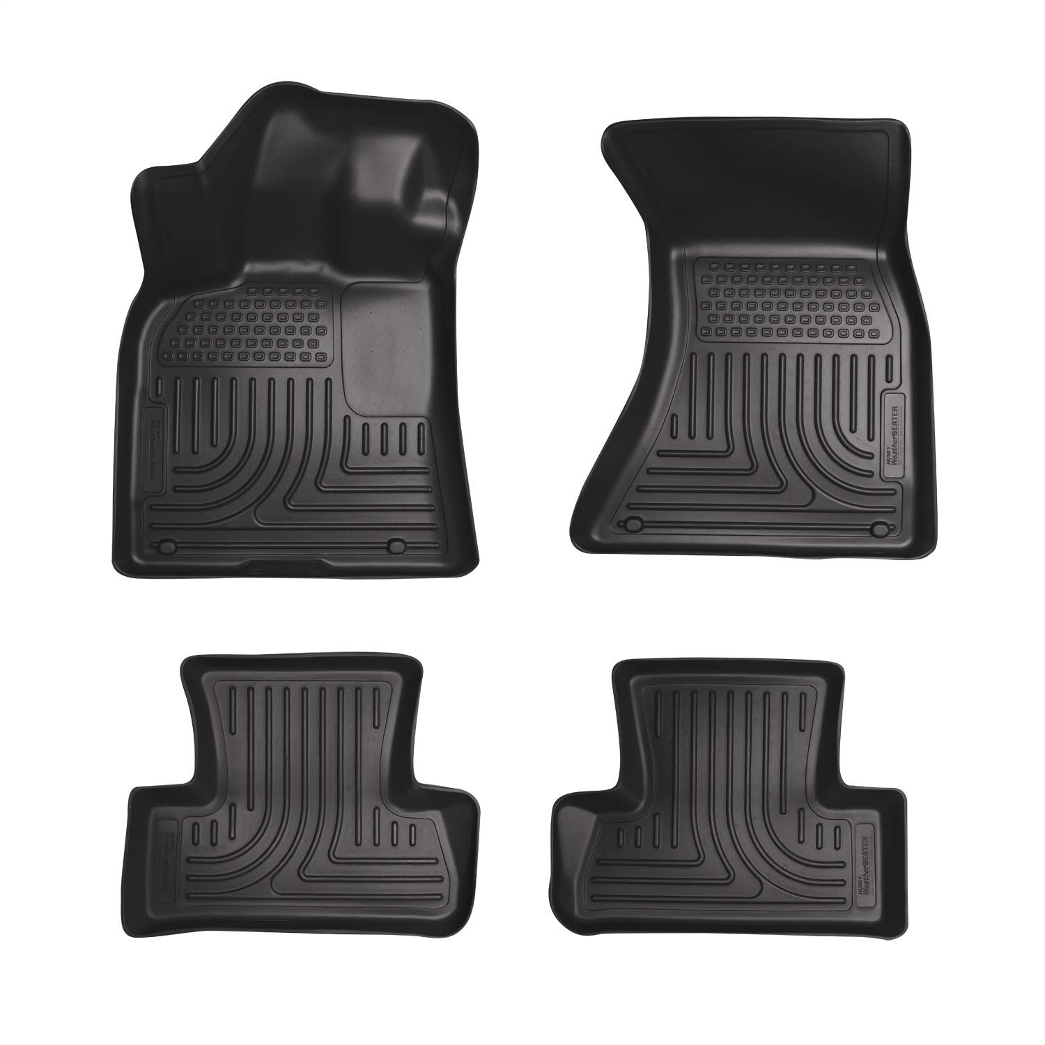 Husky Liners Fits 2012-18 Audi A6, 13-14 Audi S6 Weatherbeater Front & 2nd Seat Floor Mats