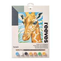 """Reeves Paint by Numbers 9"""" x 12"""" , Giraffe"""