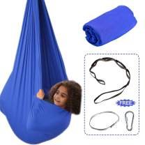 Aokitec Therapy Swing for Kids with Special Needs (Hardware Included) Snuggle Swing Cuddle Hammock Indoor Adjustable Aerial Yoga for Children with Autism, ADHD, Aspergers, Sensory Integration