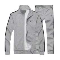 Sun Lorence Men's Casual Sweat Suit Set Full Zip Tracksuit for Jogging Running Sports