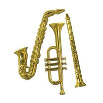 Gd Platesas Musicl Instr (Pack of 12)