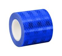 "3M 3435 Blue Reflective Tape, 3"" Width x 5yd Length (1 roll)"