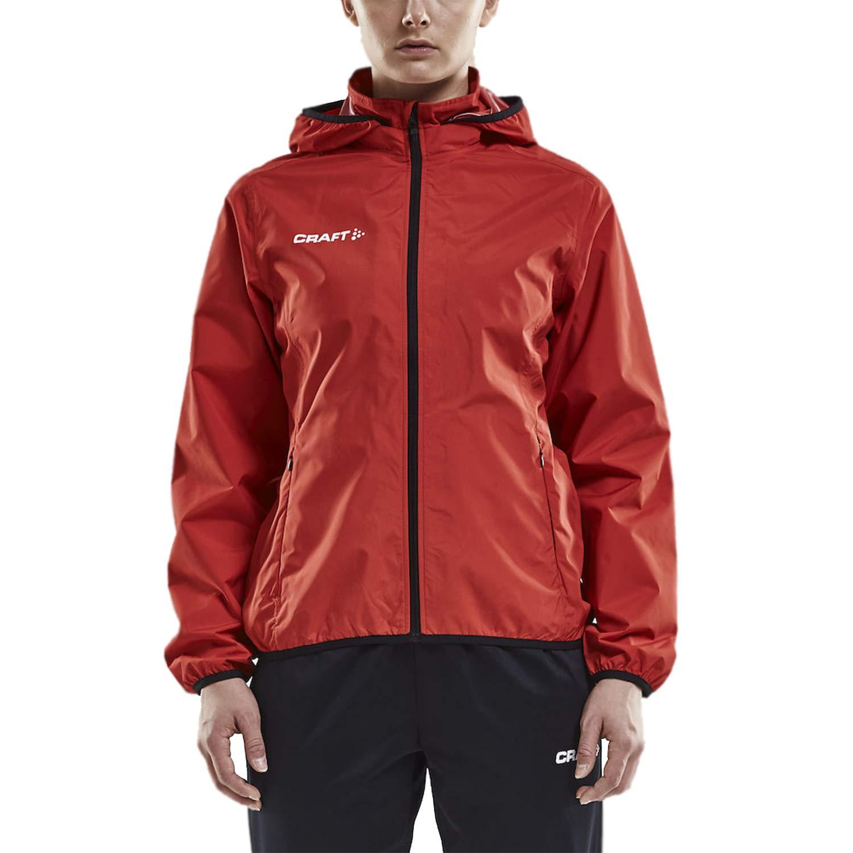 Craft Women's Rain Jacket with Hood - Lightweight Waterproof Windbreaker for Women