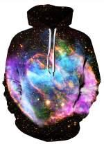 Azuki Unisex Digital Print Sweatshirts Hooded