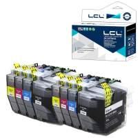LCL Compatible Ink Cartridge Pigment Replacement for Brother LC3019 LC3017 XXL LC3019BK LC3019C LC3019M LC3019Y MFC-J5330DW J6530DW J6930DW J6730DW (8-Pack 2Black 2Cyan 2Magenta 2Yellow)