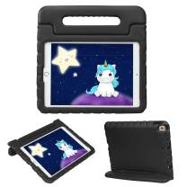 HDE iPad 7th Generation Case for Kids – iPad 10.2 inch 2019 Case for Kids Shock Proof Protective Light Weight Cover with Handle Stand for 2019 Apple iPad 10.2 - Black