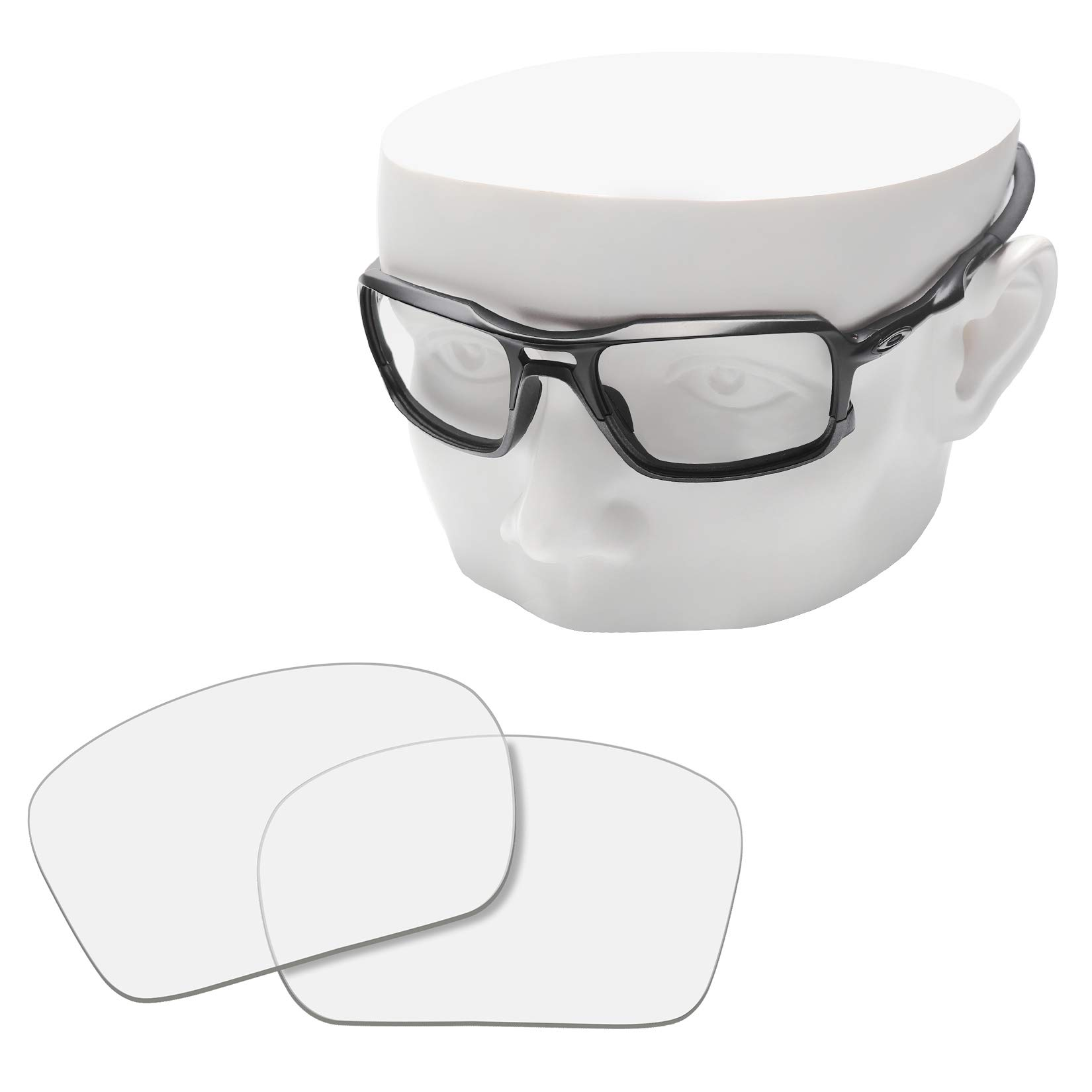OOWLIT Replacement Lenses Compatible with Oakley Triggerman Sunglass