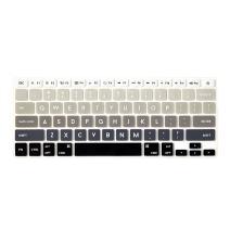 Flapjacks Designer Keyboard Covers for MacBook, MacBook Pro (Magic Keyboard) - Black Dawn