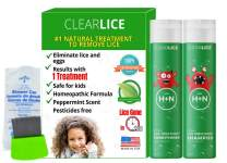 ClearLice® Lice Treatment Product Bundle (Shampoo + Conditioner + Comb)