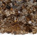 American Fireglass 10-Pound Fire Glass with Fireplace Glass and Fire Pit Glass, 1/4-Inch, Copper