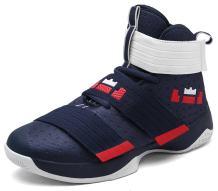 No.66 TOWN Couple Men's Women's High Top Running Shoes Fashion Sneaker,Basketball Shoes