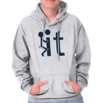 F It Screw It Funny Adult Graphic Rebel Hoodie