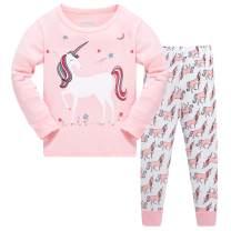 Schmoopy Girls Unicorn Pajamas Size 2-12