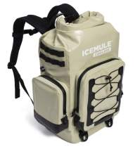 IceMule BOSS, The Ultimate Insulated Backpack Cooler – Holds 30 Liters, 24 Cans – A Hands-Free Portable Cooler with Multi-Day Ice Retention – Waterproof Backpack for Hiking, Camping, Fishing