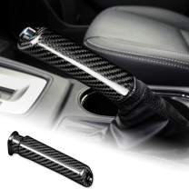 AIRSPEED Carbon Fiber Car Handbrake Cover Grip Handle Lever for Subaru WRX Forester Accessories