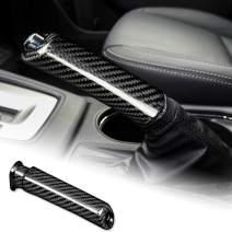 AIRSPEED Carbon Fiber Car Handbrake Cover Grip Handle Lever for Subaru WRX Forester Accessories