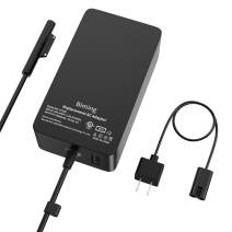 Surface Pro Charger,Biming 65W Power Supply Adapter Compatible with Microsoft Surface Pro X Pro 7 Pro 6 Pro 5 Pro 4 Pro 3 Surface Laptop 1 2 3 Surface Go (2) Surface Book (2)