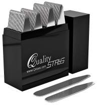 50 Metal Collar Stays in a Divided Box