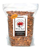 Wild Soil Almonds - Distinct and Superior to Organic, Herbicide Free, Probiotic, Unsalted, ROASTED 3LB Bag