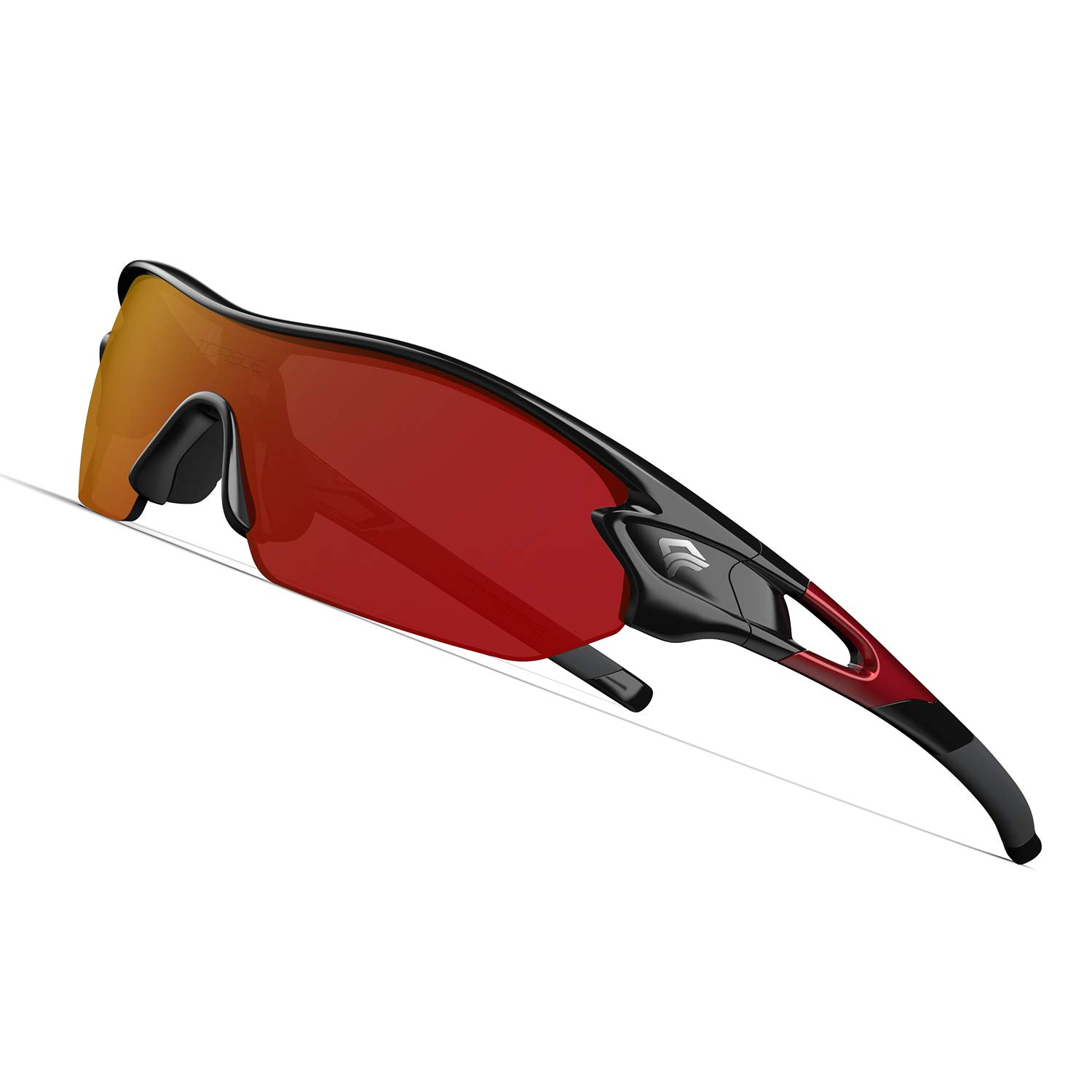 Polarized Cycling Bike Sunglasses,Sports Sunglasses for Men Women,with 3 Interchangeable Lenses Glasses