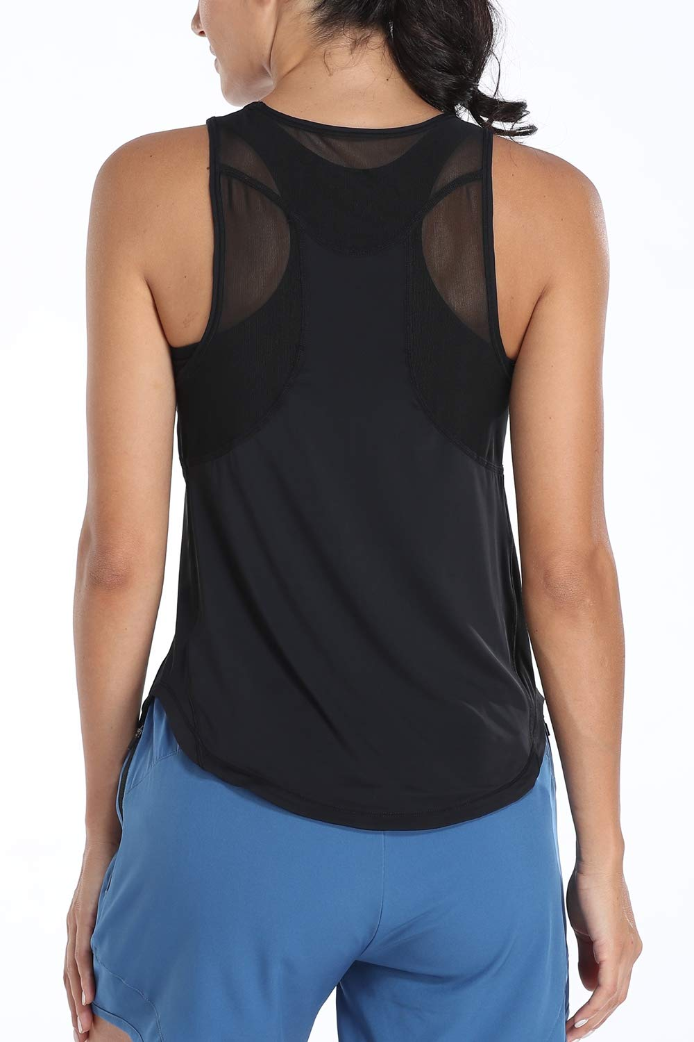 ATTRACO Racerback Workout Tank Tops for Women Yoga Tops Activewear Athletic Shirts