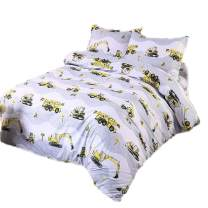 Sookie 3 Piece Bedding Set - Luxurious&Extremely Durable Premium Bedding Collection - Excavator - Twin Size