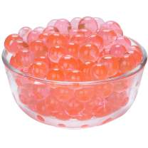 LOVOUS 12 Colors Water Beads, Crystal Soil Water Bead Gel, Wedding Decoration Vase Filler - Furniture Decorative Vase Filler, All Occasion Table Centerpiece Decorations 3000 pcs (Red)
