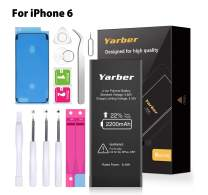 Battery for iPhone 6, Yarber 2200mAh iPhone 6 Replacement Battery High Capacity with Full Remove Tool Kit and Instruction