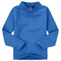 CuteOn Children Unisex Solid Color Kids School Uniform Long Sleeve Turtleneck T-Shirt