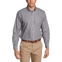 Eddie Bauer Men's Wrinkle-Free Pinpoint Oxford Relaxed Fit Long-Sleeve Shirt - S