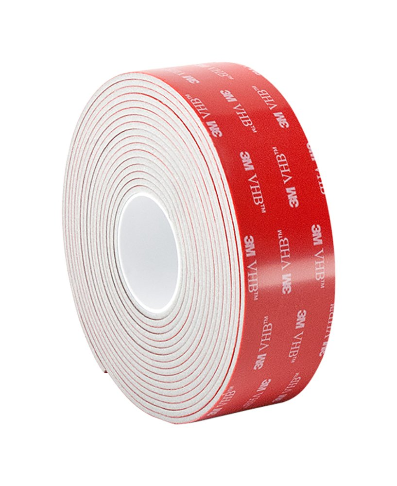 3M VHB Tape 5962Permanent Bonding Tape Roll– 1.75 in. x 15 ft. Conformable Black Foam with Acrylic Adhesive.
