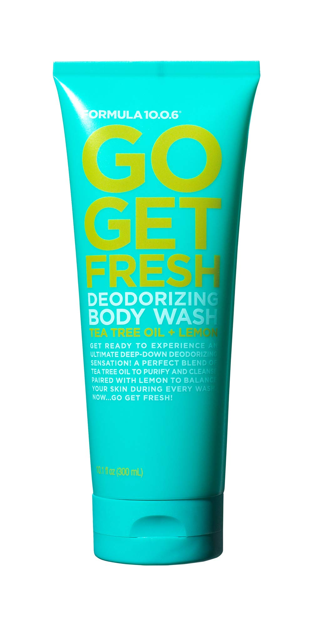 Formula 10.0.6 Go Get Fresh Deodorizing Body Wash (10.1 Fl. Oz.) Body Wash is the Perfect Blend for the Freshest Daily Clean - Vegan, Paraben-Free, Sulfate-Free, Dye-Free & Cruelty-Free