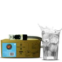 Bar Beverages India Super Dry Craft Tonic Water (3 Gallon Bag-in-Box Syrup Concentrate) - Box Pours 18 Gallons of Tonic Water - Use with Bar Gun, Soda Fountain or SodaStream