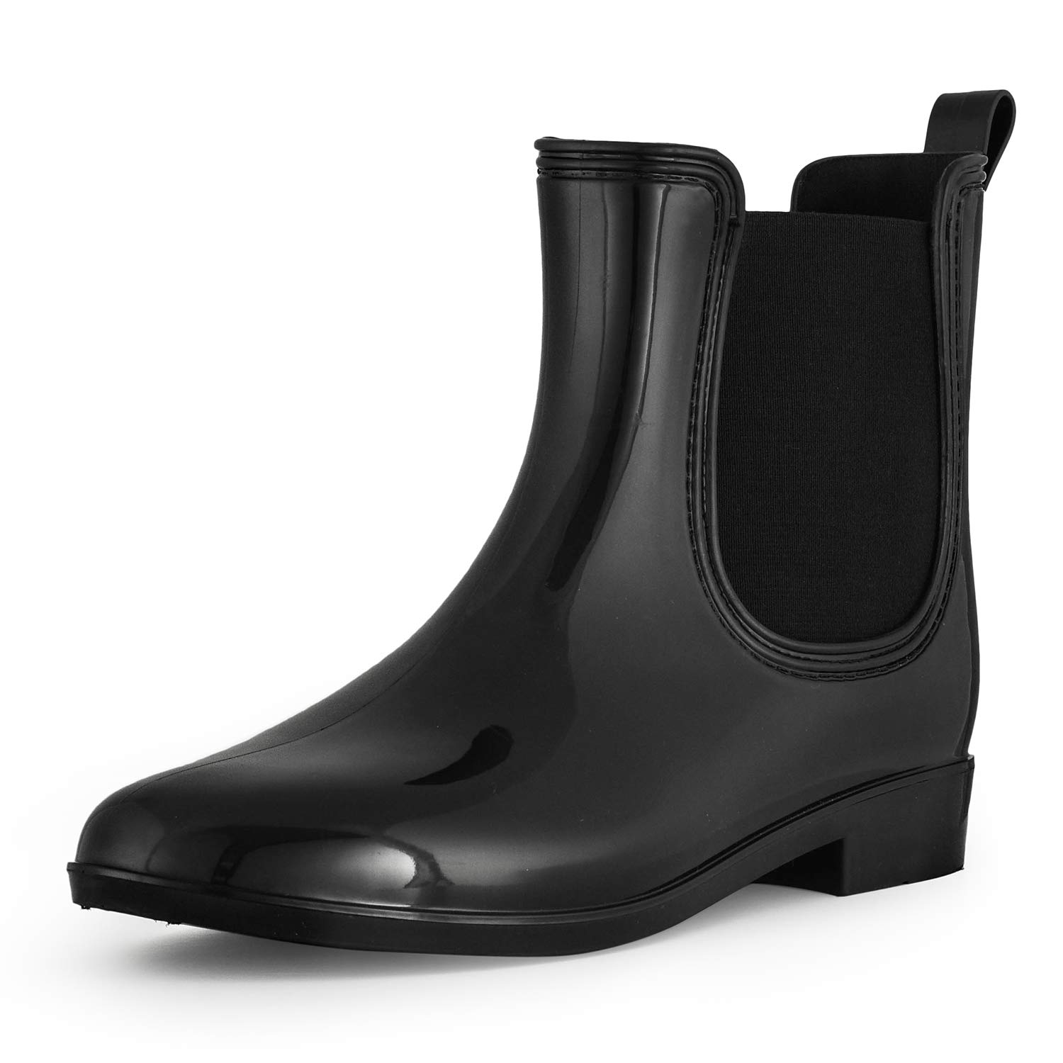 SheSole Ankle Short Rain Boots for Women Waterproof Chelsea Boots