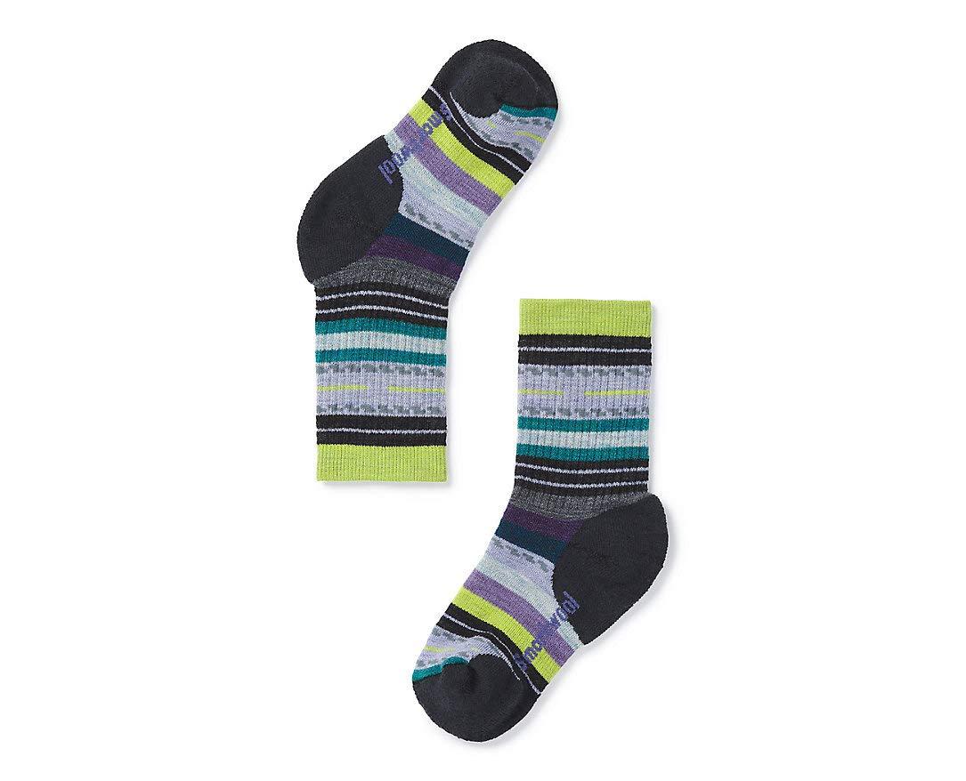 Smartwool Cushioned Performance Outdoor Socks- Kids' Hike Medium Margarita Crew