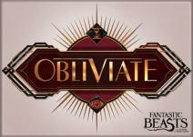 """Ata-Boy Fantastic Beasts 'Obliviate' 2.5"""" x 3.5"""" Magnet for Refrigerators and Lockers"""