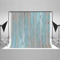 Kate 10x10ft Wood Photography Backdrop Wood Wall Portrait Photo Backdrops Blue Wood Texture Photo Studio Background