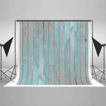 Kate 10x10ft Wood Photography Backdrop Wood Wall Portrait Photo Backdrops Blue Wood Texture Photo Studio Background