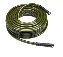 Water Right 500 Series High Flow Garden Hose, Lead Free & Drinking Water Safe, 100-Foot x 1/2-Inch, Stainless Steel Fittings, Olive Green
