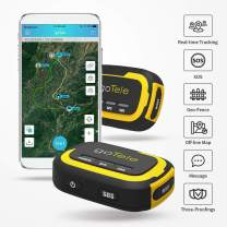 goTele GPS Tracker, No Monthly Fee No Network Required Mini Portable Off-grid Real Time GPS Tracking Device for Outdoor Hiking, Hunting, Kids and Pets Tracker (2 Pack)