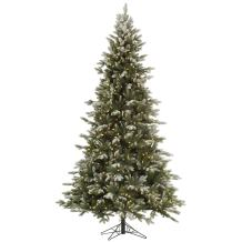 Vickerman 75' Frosted Balsam Fir Artificial Christmas Tree with 750 Warm White LED lights