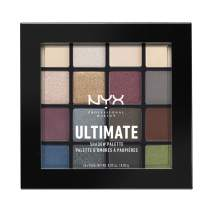 NYX PROFESSIONAL MAKEUP Ultimate Shadow Palette, Eyeshadow Palette, Smokey & Highlight (1 Count)