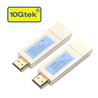 HDMI Extender, a Pair of HDMI Optical Transceivers, LC Connector, 850nm, up to 300M at OM3 Fiber