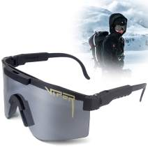 Pit Viper Sunglasses, UV400 Outdoor Cycling Glasses, Outdoor Windproof Eyewear Uv Protection for Women and Men