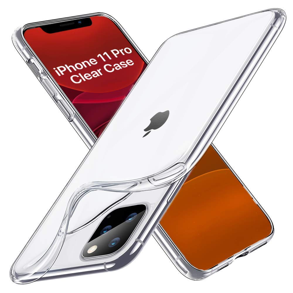 Boxgear Designed for iPhone 11 Pro Case, Anti-Scratch Shock-Absorption Crystal Clear Phone Cover Case for iPhone 11 Pro, 5.8 inch, 2019