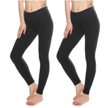 KT Buttery Soft Leggings for Women - High Waisted Leggings Pants with Pockets - Reg & Plus Size