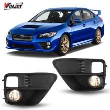 Winjet OEM Series for [2015 2016 2017 Subaru WRX] Driving Fog Lights + Switch + Wiring Kit