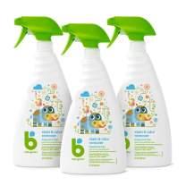 Babyganics Stain & Odor Remover Spray, Fragrance Free, 32oz Spray Bottle (Pack of 3)