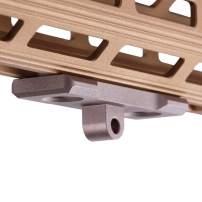 TuFok MLok/Keymod Bipod Mount Adapter - for Harris Type Bipod(Aluminum)